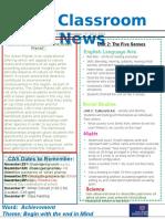 week 11 - kg2 newsletter
