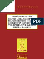 Estudio de las metástasis hepáticas de cáncer colorrectal con rescate quirúrgico en un hospital de tercer nivel