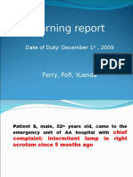morning report hernia scrotalis.ppt