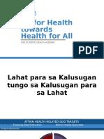Duterte Health Agenda v 7-14-16