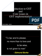 Introduction to GST - MCR HRDI