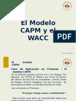 3. El Modelo CAPM y El WACC (1)