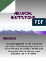 Finan. Inst & IFCI