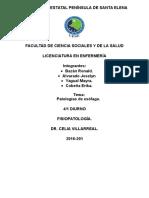 Patologias de Esofago