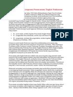 Mekanisme Dan Komponen Perencanaan Tingkat Puskesmas