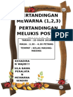 NOTIS PERTANDINGAN MEWARNA