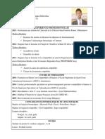 CV Rodin Andriniaina RAKOTOARISOA