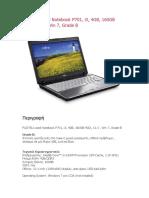 FUJITSU Used Notebook P701