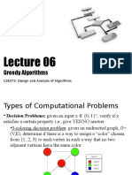 c Se 373 Lecture 06 Greedy Algorithms