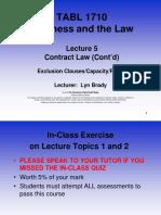 TABL 1710 Lecture 5 Semester 2 2016