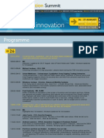 SA's 3rd Innovation Summit - Programme