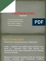 Psychoneurosis