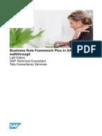 Business Rule Framework plus in SAP - A Brief Walkthrough.pdf