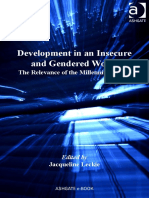 (Gender in a global_local world) Jacqueline Leckie-Development in an insecure and gendered world _ the relevance of the Millennium Goals-Ashgate (2009).pdf