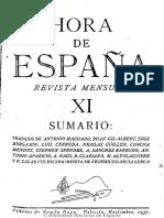 Hora de España (Valencia). 11-1937 Juan de Mairena