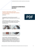 Combined Thrust & Journal Bearing Assembly Reduces Cost & Risk for Large Pump Users _ Pumps & Systems