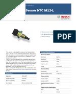 Bosch Motorsport NTC M12-L datasheet (0 280 130 039)
