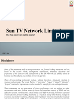 VVIMP - Sun TV - Investors Presentation for Citi India Investor Conference 2016
