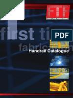 FTF Handrail Catalogue