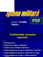 Igiena Militara