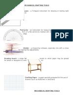 Mechanical Drafting Tools