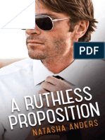 A Ruthless Proposition - Natasha Anders
