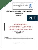 Les Metiers de La Finance