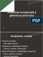 Curs 4 - Anatomia Funcţională a Gleznei Şi Piciorului