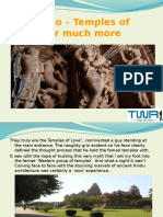 Khajuraho – Temples of Erotica or much more.pptx
