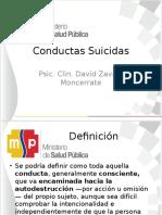 Conductas Suicidas