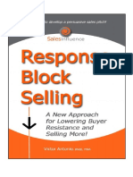 Response Block Selling Victor Antonio