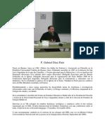 Curriculum Gabriel Diaz