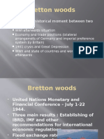 Bretton Woods | Bretton Woods System | Fixed Exchange Rate System