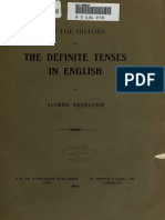 The Defenite Tenses in English