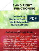 PP Left And Right Brain Function