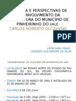 Apresentação Leandro e Laisa