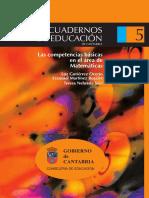 Cuaderno5-Las CCBB en El Área de Matemáticas