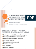 Advanced Coding for Spesialists Diagnosis and Prosedures