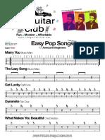 Beginners Pop Songs - (the Guitar Club Ltd London UK) Theguitarclub@Hotmail.co.Uk