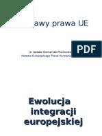 Ewolucja Integracji Europejskiej 2013