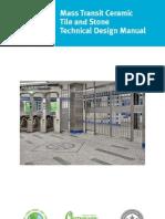 LATICRETE Mass Transit Ceramic Tile & Stone Technical Design Manual