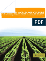 OI Report Betting on World Agriculture
