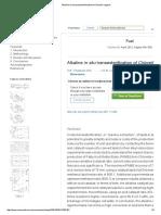 Alkaline in Situ Transesterification of Chlorella Vulgaris