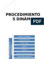 PROCEDIMIENTOS DINÁMICOS