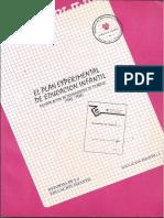 El Plan Experimental de E.I. Cajas Rojas