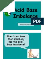 Acid Base Imbalance PDF