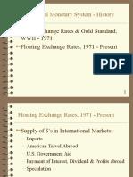 Intl. Monetary System