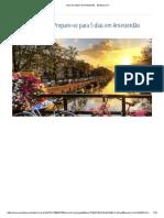 Guia de Viagem de Amesterdão - Booking