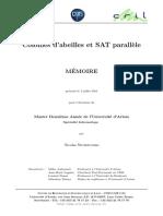 Colonies d'Abeilles Et SAT Parallèle