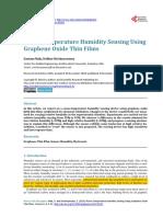 Room-Temperature Humidity Sensing Using Graphene Oxide Thin Films.pdf